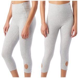 Alternative Apparel Move Pull Up Leggings Grey
